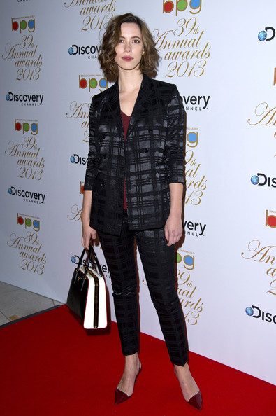 More Pics of Rebecca Hall Pantsuit (1 of 3) - Rebecca Hall Lookbook - StyleBistro