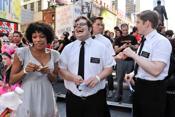 Andrew Rannells Nikki M. James Broadway Unites: 9/11 Day of Service and Remembrance