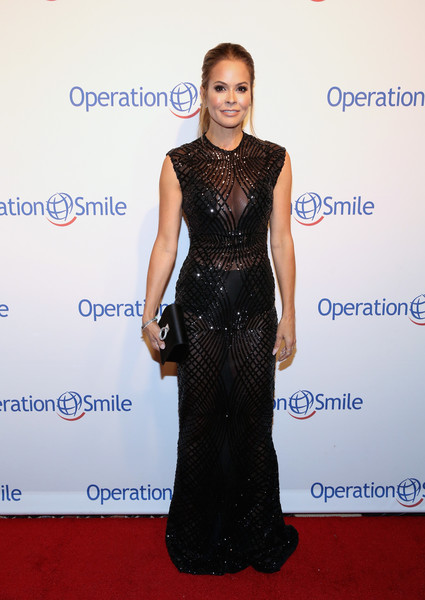 Brooke Burke-Charvet Sheer Dress