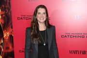 Brooke Shields Leather Pants