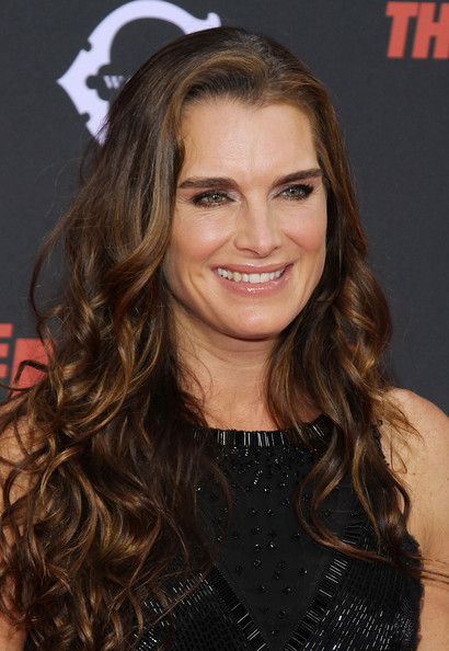 Brooke Shields Long Curls