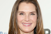 Brooke Shields Long Straight Cut