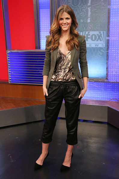 Brooklyn Decker Blazer [fox and friends,fashion model,fashion,beauty,fashion show,catwalk,runway,girl,jeans,leg,denim,brooklyn decker,new york city,fox studios,brooklyn decker visits fox and friends]