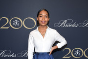 Yara Shahidi Button Down Shirt
