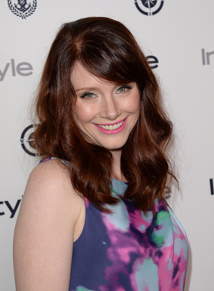 Bryce Dallas Howard Pink Lipstick