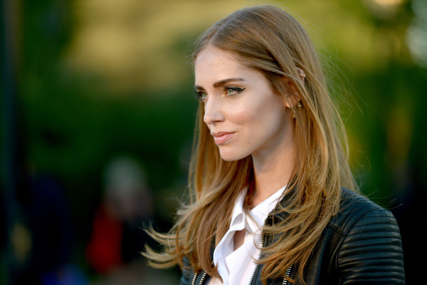 More Pics of Chiara Ferragni Lipgloss (1 of 12) - Makeup Lookbook - StyleBistro [hair,face,blond,beauty,hairstyle,street fashion,lip,lady,long hair,brown hair,chiara ferragni,los angeles,london,california,griffith observatory,burberry,red carpet,event]