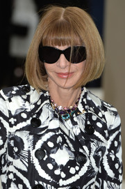 Anna Wintour rocked a perfect bob at the Burberry Prorsum Spring 2016 show.