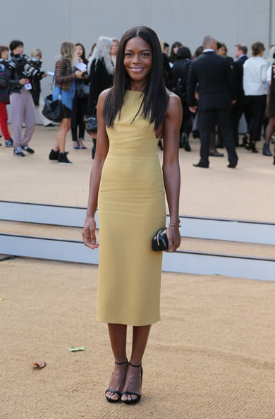 More Pics of Naomie Harris Leather Clutch (1 of 6) - Leather Clutch Lookbook - StyleBistro