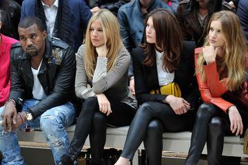 Kanye West Sienna Miller Burberry Spring Summer 2012 Womenswear Show - Front Row