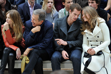 Mario Testino Rosie Huntington-Whiteley Burberry Spring Summer 2012 Womenswear Show - Front Row