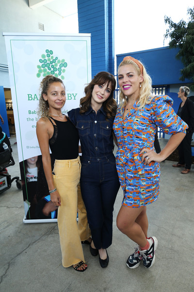 Busy Philipps Crosstrainers [blue,fashion,event,shoulder,fun,fashion design,footwear,design,luxury vehicle,electric blue,backpacks,ambassadors,kawhi leonard,students,zooey deschanel,donation,donation,los angeles,baby2baby,la clippers]