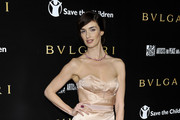 Paz Vega arrives for a BVLGARI fundraiser benefitting Save The Children and Artists For Peace held at a private residence on January 13, 2011 in Beverly Hills, California.