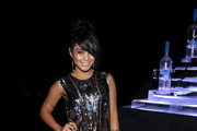 Actress Vanessa Hudgens attends the CAA Party with Grey Goose at Soho House Cannes in celebration of the 64th Annual Cannes Film Festival at Villa Eilenroc on May 14, 2011 in Cannes, France.