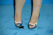 Kristen Vangsness' unicorn shoes aren't exactly conventional but they sure are fun!