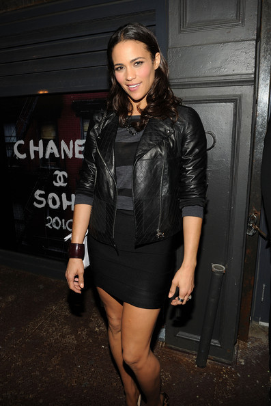 Paula+Patton in CHANEL Dinner for Karl Lagerfeld - Arrivals