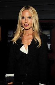 Rachel Zoe showed off her radiant center part locks while hitting the Chanel dinner.