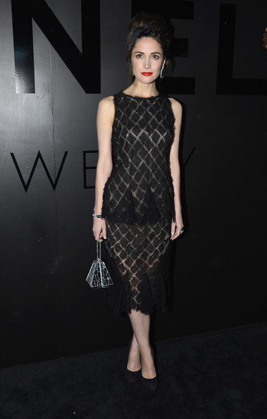 "Rose Byrne at Chanel Fine Jewelry's 80th anniversary of the ""Bijoux De Diamants"" collection"