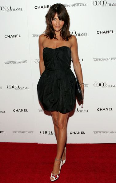 More Pics of Helena Christensen Medium Layered Cut (1 of 10) - Helena Christensen Lookbook - StyleBistro