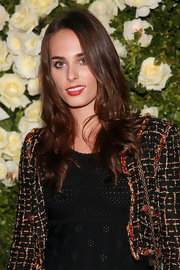Sophie Auster showed off her radiant curls at the Chanel Tribeca Film Festival Dinner.