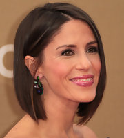 Soleil Moon Frye wore her hair in a sleek bob at the 2011 CNN Heroes: An All-Star Tribute.