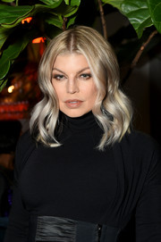 Fergie looked darling with her face-framing waves at the CR Girls 2018 Calendar launch.