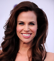 Brooke Burns showed off her brunette locks while hitting a Los Angeles event. We much prefer the actress as a brunette over a blonde.
