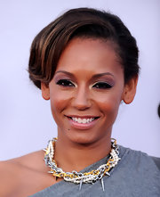 Mel B showed off her classic bun while attending a Universal City event.
