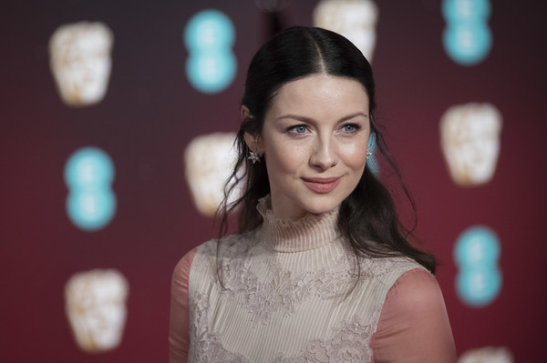 Caitriona Balfe Half Up Half Down