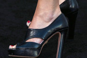 Calista Flockhart Platform Pumps
