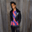 Letitia Wright at Calvin Klein Collection