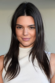 Kendall Jenner sported a messy layered cut when she attended the Calvin Klein fashion show.