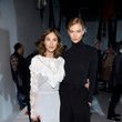 Alexa Chung and Karlie Kloss at Calvin Klein Collection