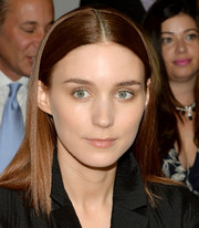 Rooney Mara kept it minimal with this straight, center-parted style at the Calvin Klein Spring 2014 show.