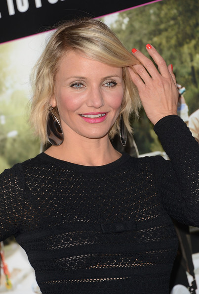 Cameron Diaz Bright Nail Polish