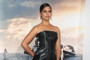 Camila Alves Strapless Dress