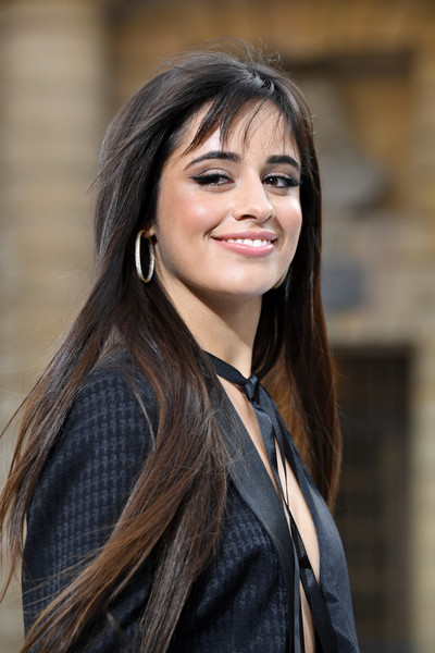 Camila Cabello Long Straight Cut with Bangs