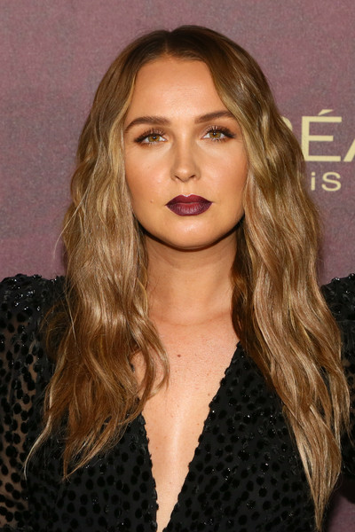 Camilla Luddington Long Wavy Cut [hair,fashion model,blond,human hair color,eyebrow,beauty,chin,hairstyle,long hair,layered hair,arrivals,camilla luddington,sunset tower hotel,west hollywood,california,entertainment weekly,entertainment weekly pre-emmy party]