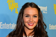 Camilla Luddington Long Partially Braided