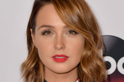 Camilla Luddington Red Lipstick
