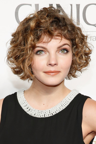 Camren Bicondova Curled Out Bob [camren bicondova,hair,face,hairstyle,chin,blond,eyebrow,brown hair,beauty,hair coloring,human,american ballet theatre opening night gala,american ballet theatre 2014 opening night fall gala,david h. koch theater,new york city,lincoln center]