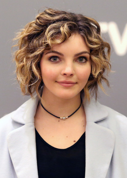 Camren Bicondova Curled Out Bob [hair,face,hairstyle,blond,eyebrow,chin,beauty,layered hair,long hair,hair coloring,camren bicondova,gotham,atlanta,georgia,scad presents atvfest,event,atvfest 2016]