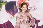 Candace Cameron Bure Embroidered Dress