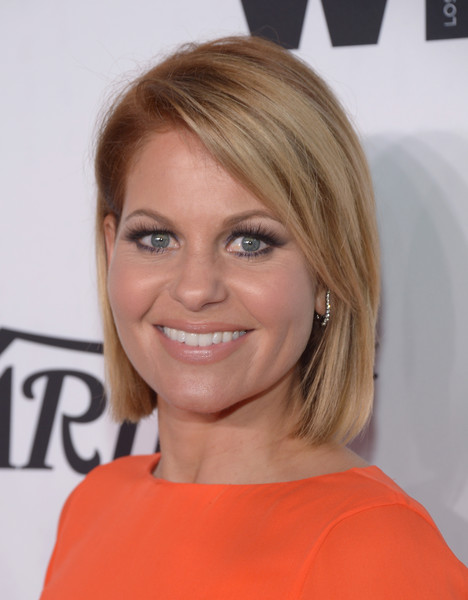 Candace Cameron Bure Side Parted Straight Cut [hair,face,hairstyle,blond,eyebrow,chin,shoulder,layered hair,brown hair,lip,variety and women in films pre-emmy celebration - arrivals,variety and women in films pre-emmy celebration,west hollywood,california,gracias madre,candace cameron-bure]