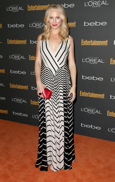 Candice Accola Print Dress