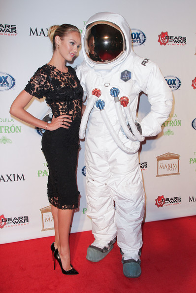 Candice Swanepoel Evening Pumps [red carpet,carpet,astronaut,flooring,candice swanepoel,axe moon man sighting,new orleans,louisiana,party,axe astronaut,maxim]