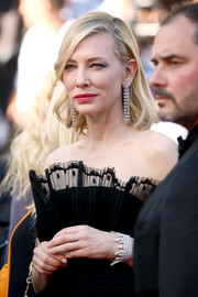Cate Blanchett showed off a gorgeous diamond bracelet by Chopard at the Cannes Film Festival screening of 'Capharnaum.'