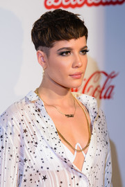 Halsey rocked a side-shaved pixie at the Capital FM Jingle Bell Ball.