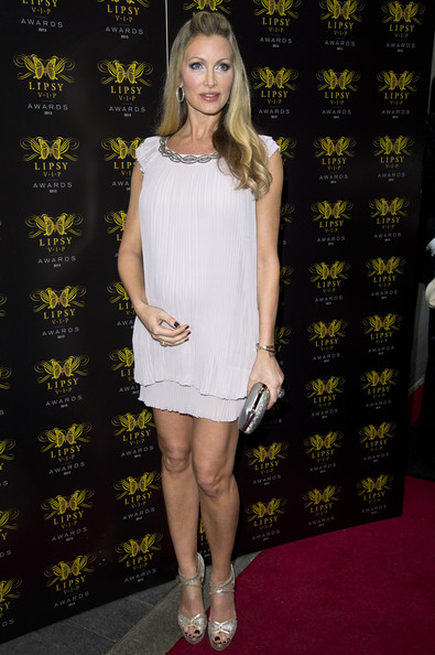 Caprice Bourret Cocktail Dress