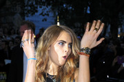 Cara Delevingne Gold Quartz Watch