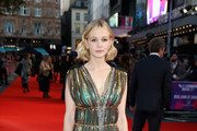Carey Mulligan Evening Sandals